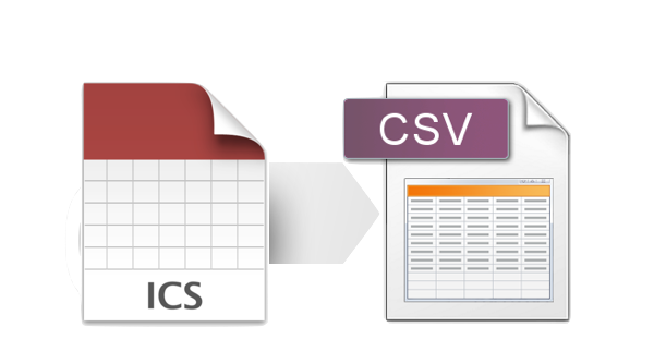 free ICS to CSV converter