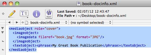Book Cover Layout Xml : Install asciidoc on mac with docbook indigoblue